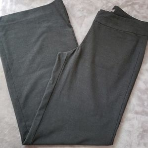 J. Jill gray wide leg dress pants. Size 4